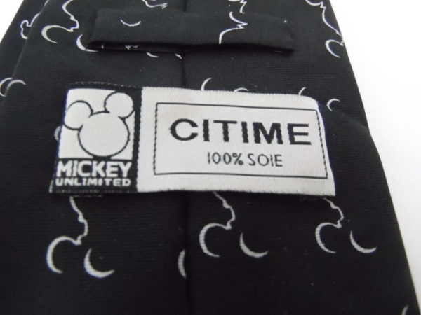 Cravate Disney - Mickey Mouse - Unlimited CITIME - 100% soie