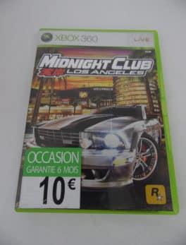 Jeu vidéo XBOX 360- Midnight Club - Los Angeles
