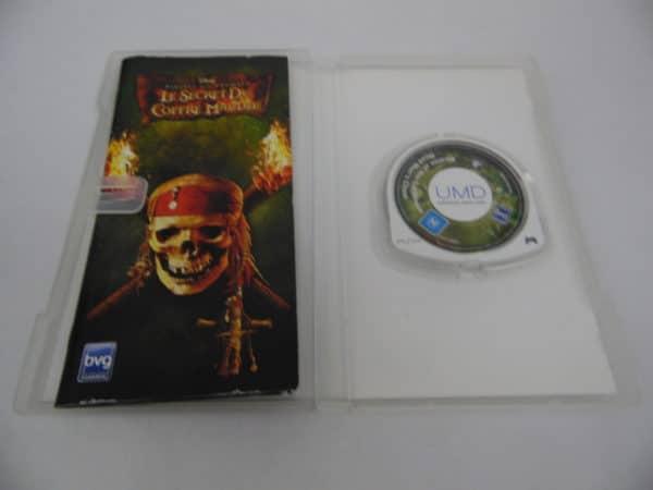 Jeu vidéo SEGA - PSP - Pirates des Caraïbes - Le secret du coffre maudit