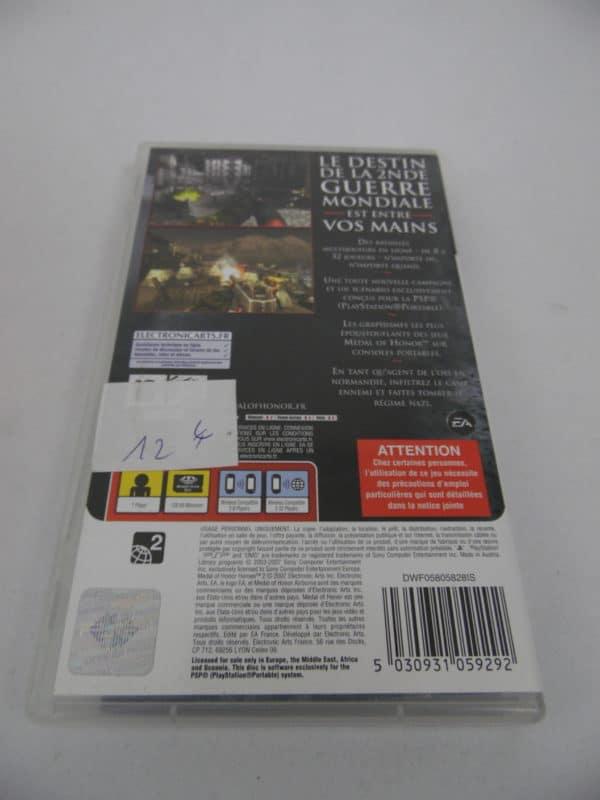 Jeu vidéo SEGA - PSP - Métal of honor - Heroes 2