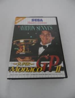Jeu vidéo SEGA - Master System - Ayrton Senna's super Monaco GP 2