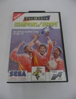 Jeu vidéo SEGA - Master System - Champions of Europe - UEFA 92'