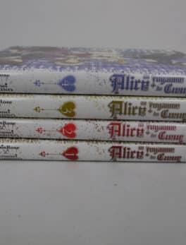 Manga - Alice au Royaume de Cœur - Tome 1 à 4 - VF