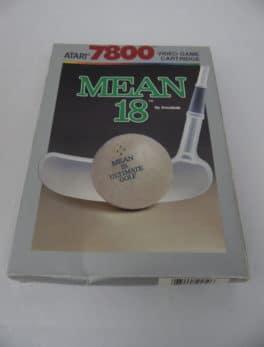 Jeu vidéo ATARI 7800 - Mean 18