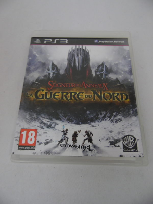 Jeu vidéo PS3 - Le seigneur des anneaux - La guerre du nord