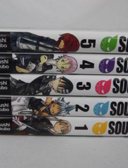 Manga - Soul Eater - Tome 1 à 5 - VF