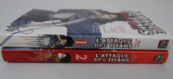 Manga - L'attaque des Titans - Tomes 1 et 2 - Birth of Livaï - VF