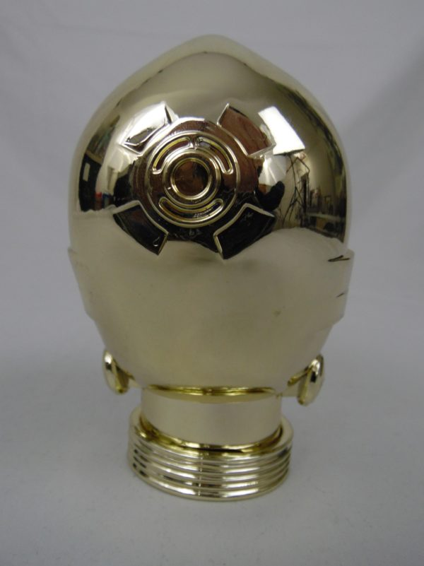 Jeu de cartes top Trumps - Star Wars - Boite de rangement C-3PO de 14 cm