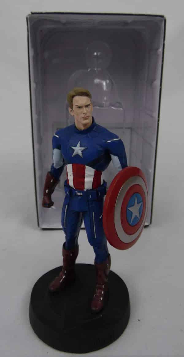 Figurine Avengers - Captain América - N° 41609 - Eaglemoss