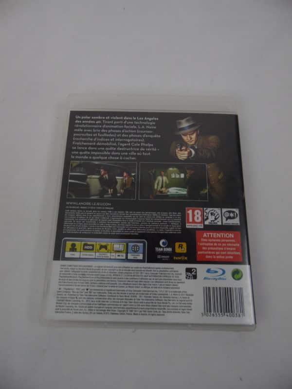 Jeu vidéo PS3 - L.A. Noire