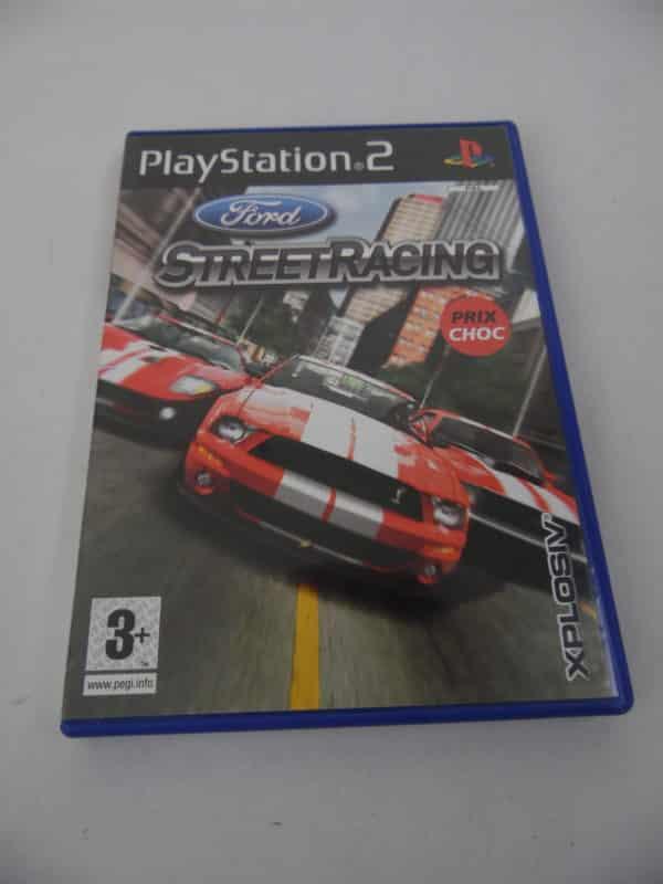 Jeu vidéo Playstation 2 - Street Racing - Saga Ford