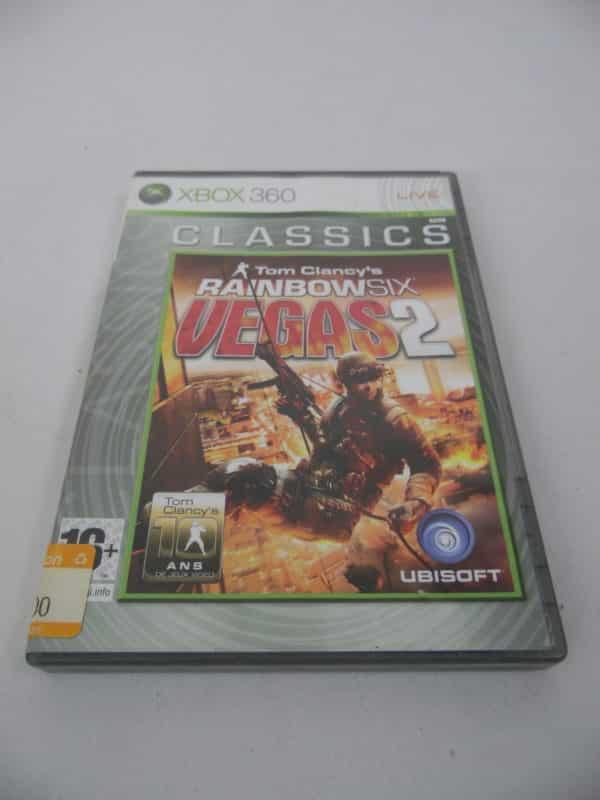 Jeu vidéo XBOX 360 - Classics - rainbow six - Vegas 2 - PAL