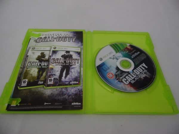 Jeu vidéo XBOX 360 - Call of DUTY - Black Ops
