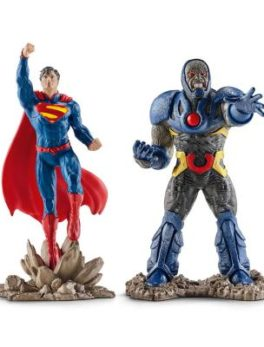 Figurine Schleich - 22509 - Justice League - Superman contre Darkseid