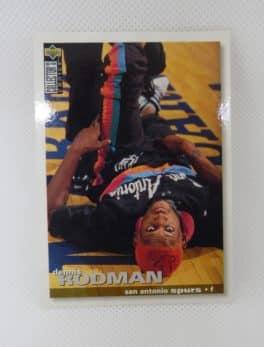 Carte NBA Dennis RODMAN - Upper deck N°141 - San Antonio Spurs