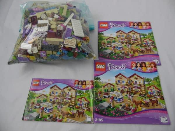 LEGO Friend's - N° 3185 - Camp d'équitation