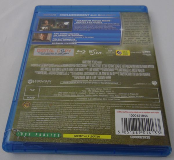 DVD Blu-Ray - Le choc des Titans