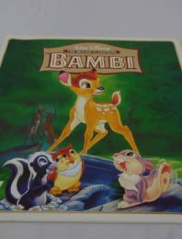 Laser disc - Bambi - Disney