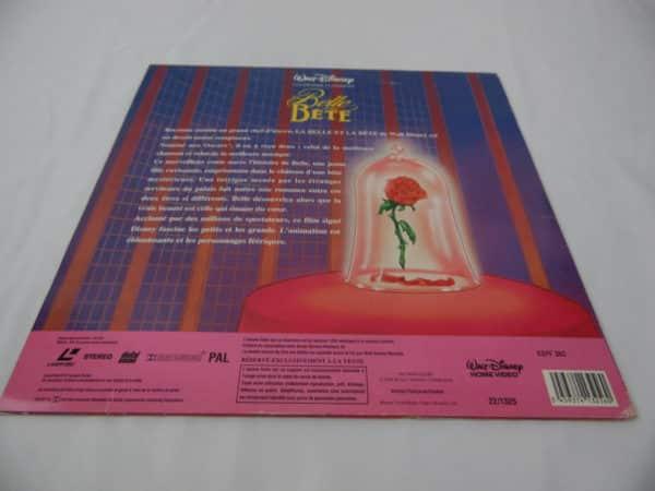 Laser disc - La belle et la bête - Disney