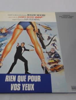 Laser disc - James Bond 007 - Rien que pour vos yeux