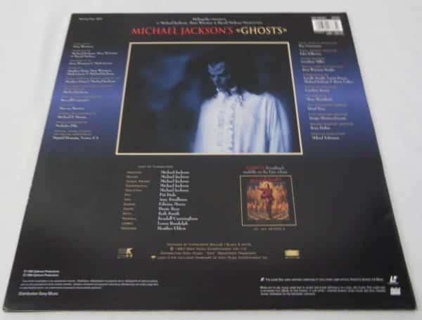Laser disc - Michael Jackson - GHOSTS