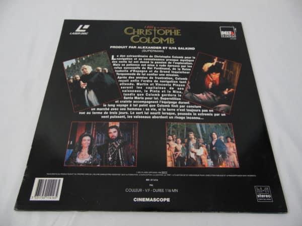 Laser disc - Christophe Colomb - 1492