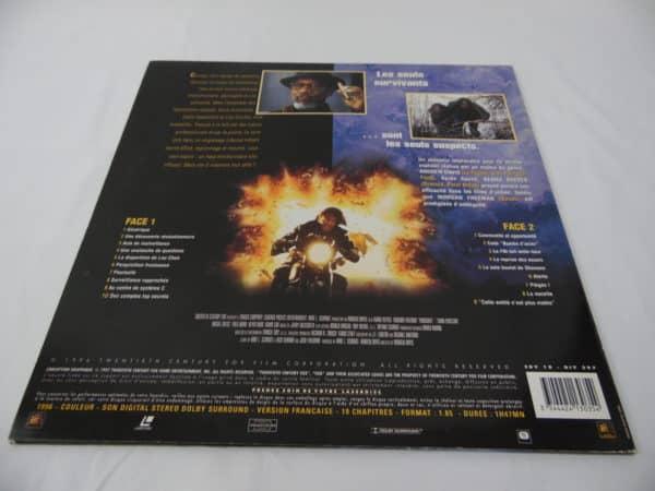 Laser disc - Poursuite