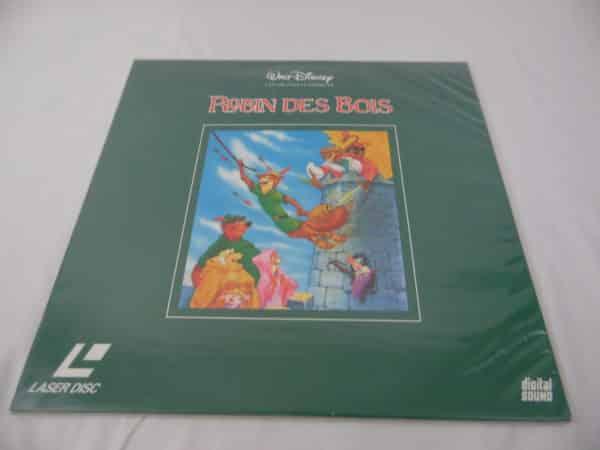 Laser disc - Disney - Robin des bois