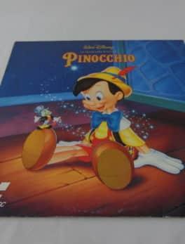 Laser disc - Pinocchio - Disney