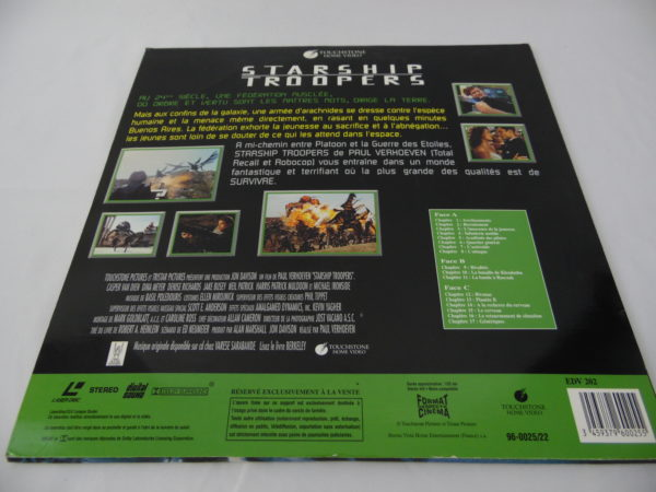 Laser disc - Starship Troopers
