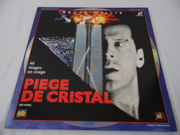 Laser disc - Piège de cristal
