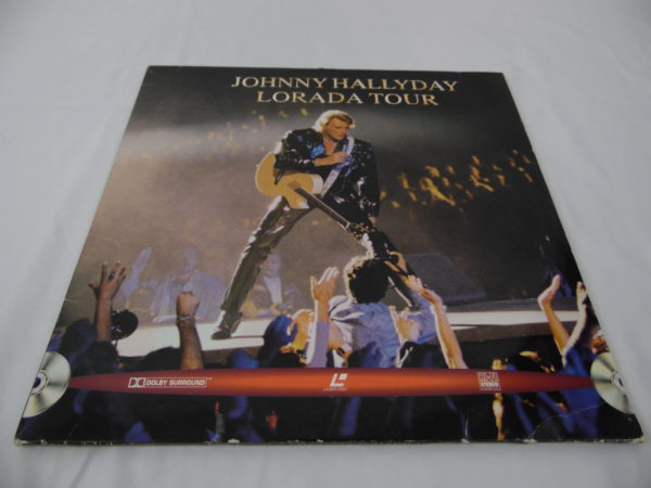 Laser disc - Johnny Hallyday - Lorada tour