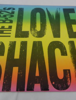Disque vinyle - 45 T - The B.52's Love Shack