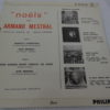 Disque vinyle - 45 T - Armand Mestral Noëls