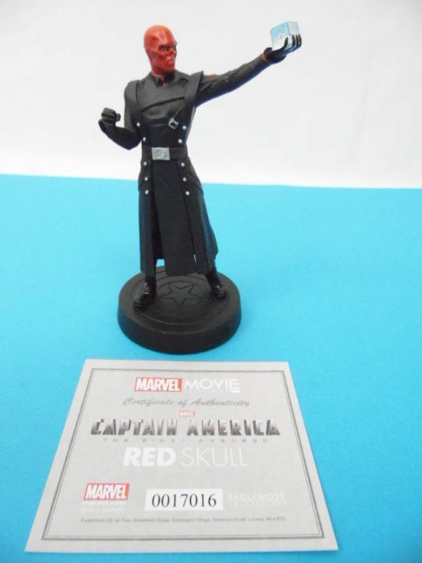 Figurine Marvel Movies collection Eaglemoss - Crâne Rouge - Avengers