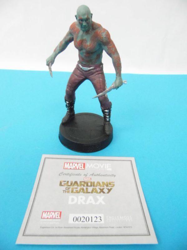 Figurine Marvel Movies collection Eaglemoss - Drax - Avengers
