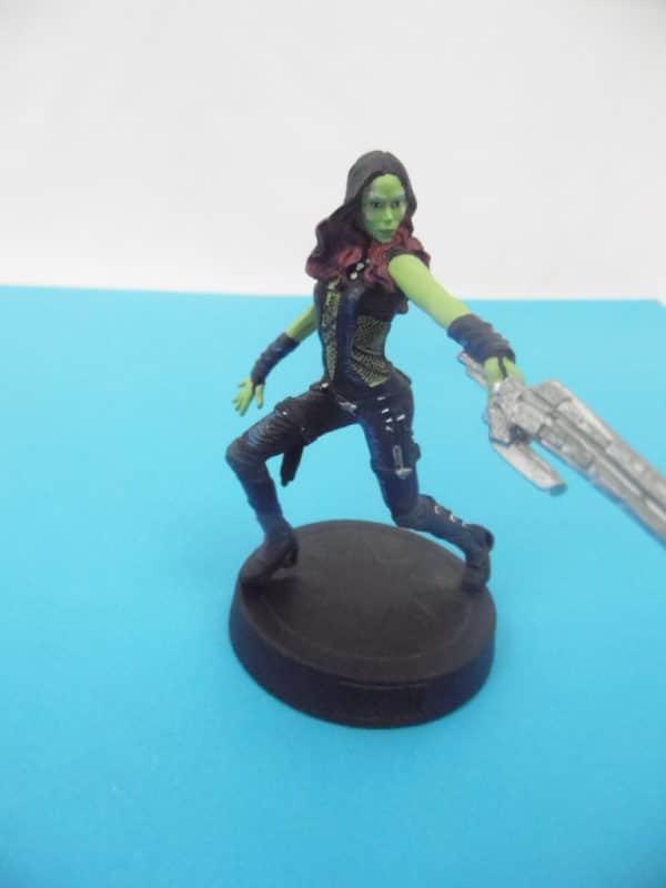 Figurine Marvel Movies collection Eaglemoss - Gamora - Avengers