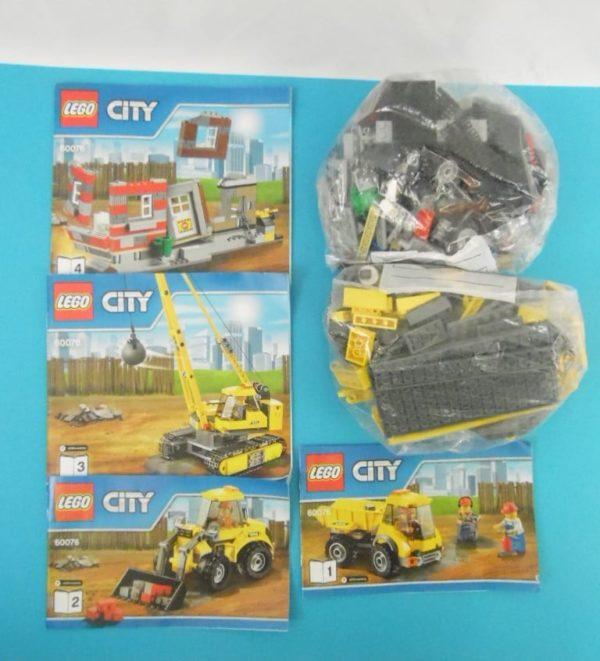 LEGO CITY - 60076 - le chantier de démolition