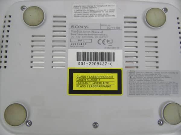 Console Playstation one - Modèle SCPH 102 C - PAL