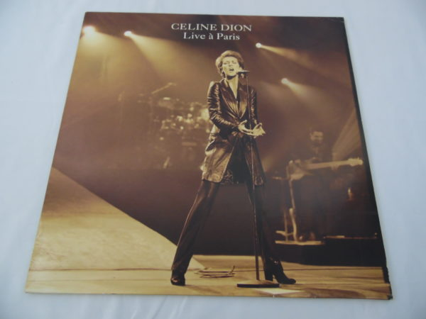 Laser disc - Céline Dion - Live in Paris