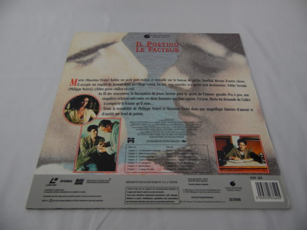 Laser disc - Il Postino / Le facteur