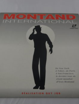Laser disc - Montand - International