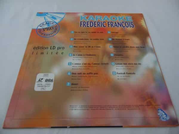 Laser disc - Karaoké - Frédéric François