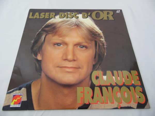 Laser disc - D'or - Claude François