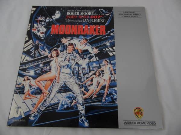 Laser disc - 007 - James Bond - Moonraker