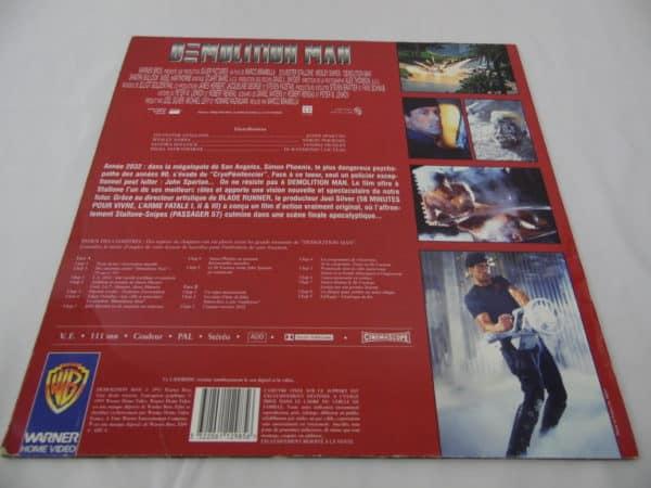 Laser disc - Démolition Man