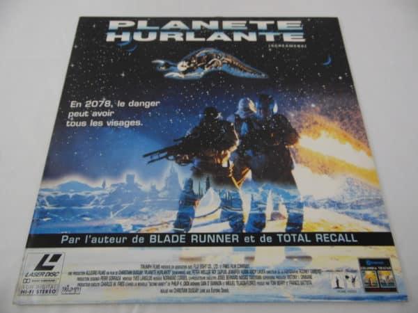 Laser disc - Planète Hurlante