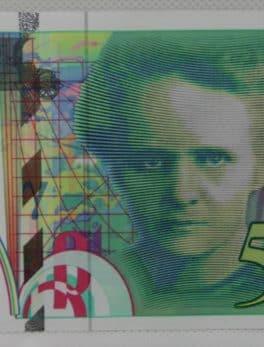 Billet de 200 franc - Pierre et Marie Curie - 1994 - N°K028378603