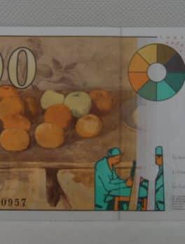 Billet de 100 franc - Paul Cézanne - 1997 - N°A01068097