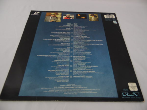 Laser disc - Elton John - The very best of